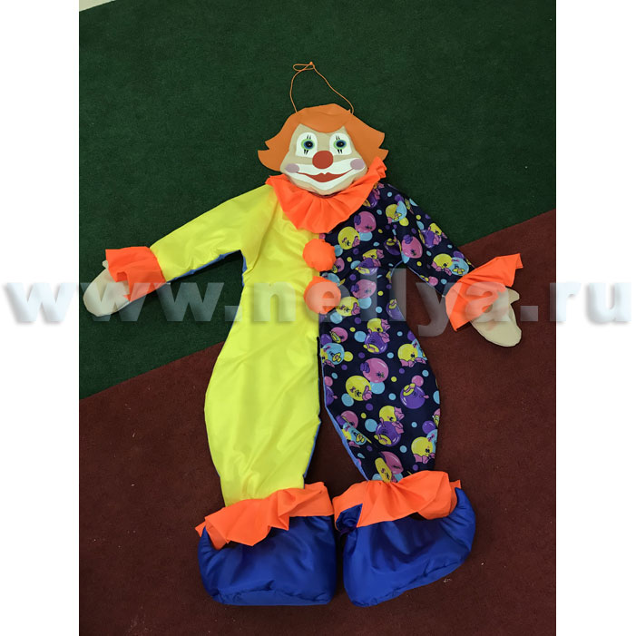 Ростовая кукла клоун своими руками из 19